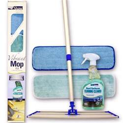 shaw r2x vibrant complete mop kit with floor cleaner the