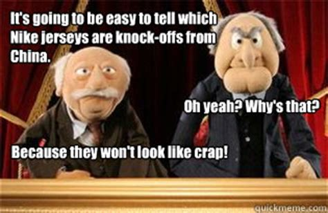 Statler And Waldorf Meme - i won 39 t show anyone
