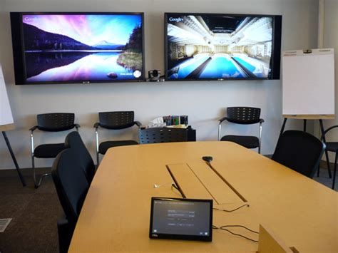 meeting room display screen videoconferencing overcoming the tyranny of distance user experience magazine
