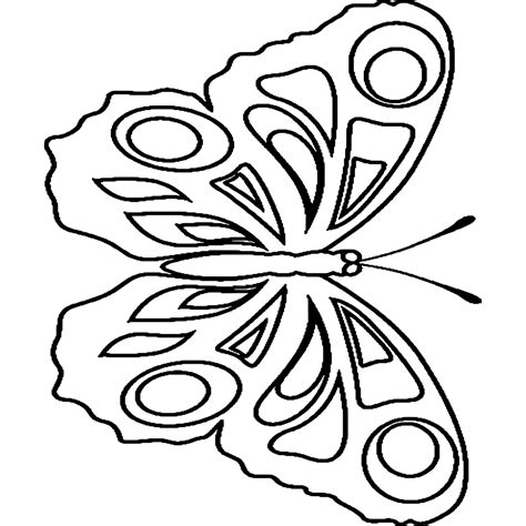tekening vlinder met bloem kleurplaat vlinders en bloemen
