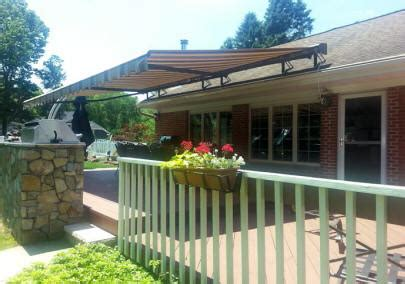 roof mounted awnings retractable awnings westchester county ny gs s awnings
