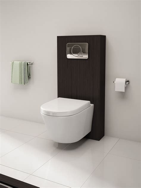 Designer Kitchen Furniture Pura Arco Wall Hung Wc Bowl And Soft Close Seat 520mm