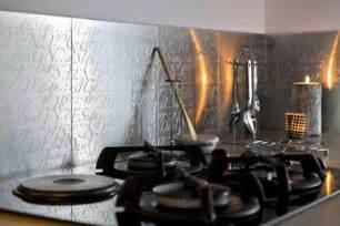 Superbe Melamine Adhesif Pour Cuisine #5: carrelage-adhesif-inox-metaldecor.jpg