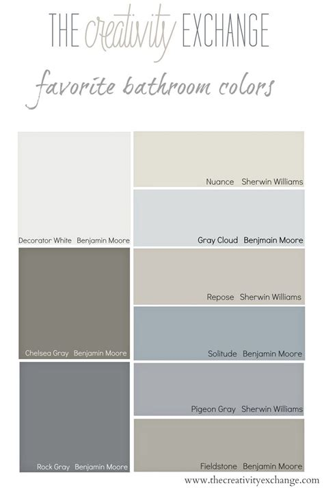 bathroom colours ideas best 20 small bathroom paint ideas on
