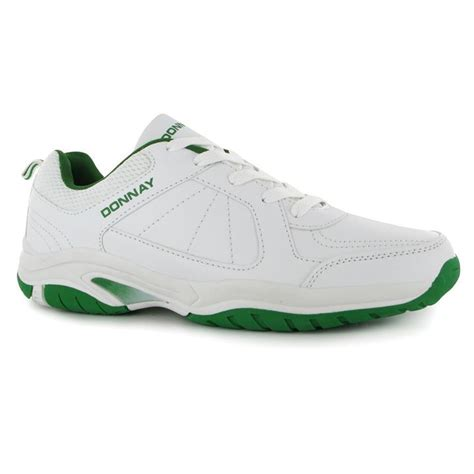 gents sports shoes donnay mens gents duece tennis sport shoes trainers