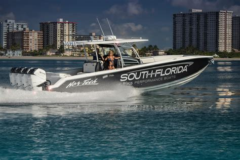 cheap yellowfin boats 2018 nor tech 390 sport center console power boat for sale