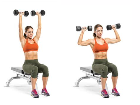 seated dumbbell bench press how to get rid of the folds on your back and sides in 21