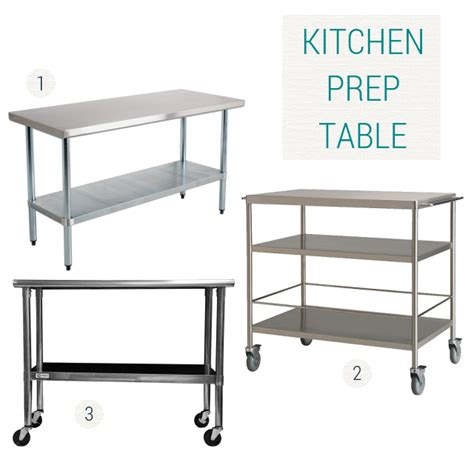 Kitchen Preparation Table Kitchen Prep Table Kitchen Prep Table At 1stdibs Redroofinnmelvindale