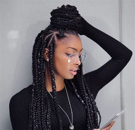 hairstyles for block braids big block braids hairstyles hairstyles