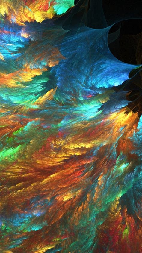Wallpaper Iphone 5 Psychedelic   640x1136 psychedelic fractal colorful iphone 5 wallpaper