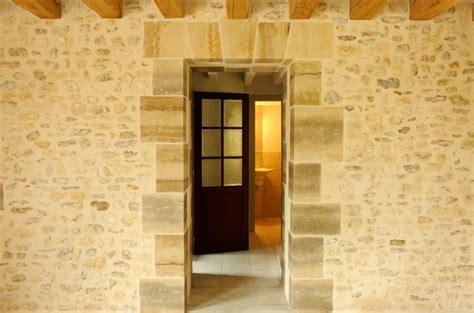 Mur En Pierres Apparentes by Pierres Apparentes Ext 233 Rieur Construction Maison B 233 Ton Arm 233