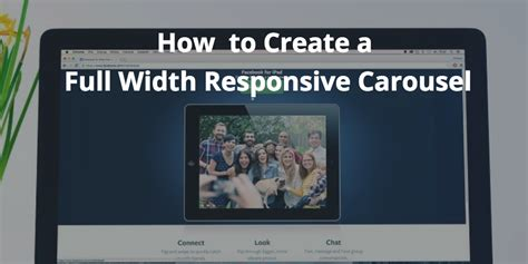 bootstrap tutorial yt how to build a full width bootstrap 4 responsive carousel