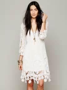 Bridal Dresses White Boho Dress 03 Trendy Boho Vintage Gypsy Amp Bohemian Clothing