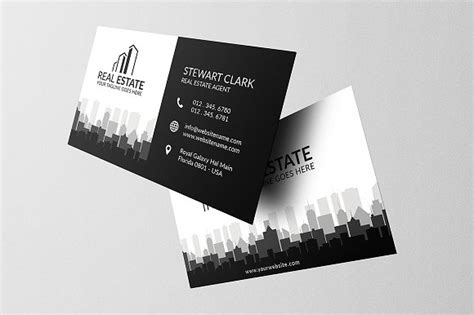 business card template realtor real estate business card template business card
