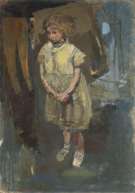 biography artist database joan eardley 2013 little girl in a glasgow back court