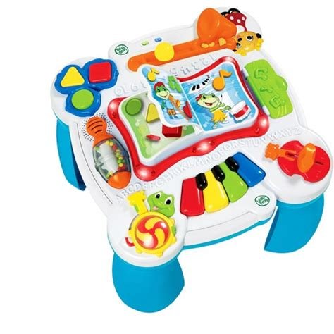 leapfrog learn and groove musical table baby