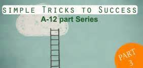 12 Simple Tricks To Make - 12 simple tricks to success part 3 findamentor
