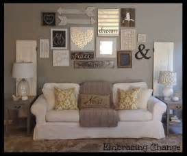 Living Room Wall Art Ideas by 25 Best Ideas About Rustic Gallery Wall On Pinterest