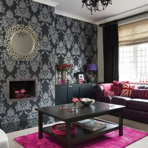 black and pink living room black is back emerald interiors blog