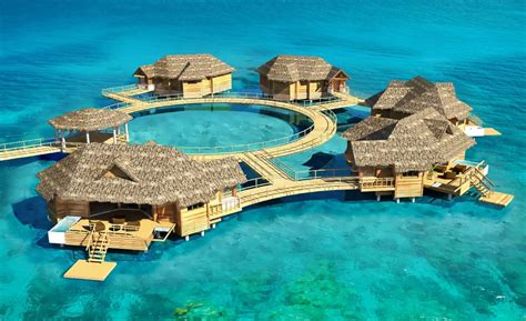 the water bungalows sandals the caribbean s the water bungalows luxury