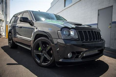 Jeep Srt8 For Sale Los Angeles Purchase Used 2009 Turbo Jeep Srt8 9 Second Beast