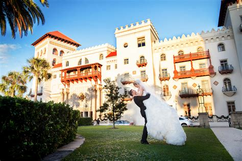 St Augustine Lights St Augustine Florida Wedding At Casa Monica Hotel By J