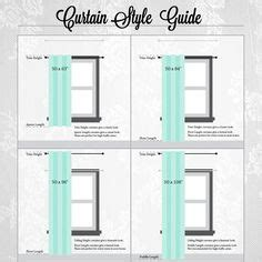 what sizes do curtains come in 1000 ideas about curtain length on pinterest curtains