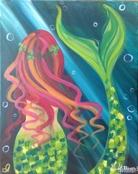 mermaid painting the 25 best mermaid paintings ideas on