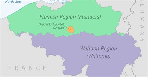 regions of belgium map what is wallonia belgium s federal system