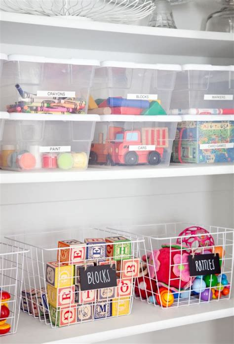 cool  easy kids toys organizing ideas digsdigs