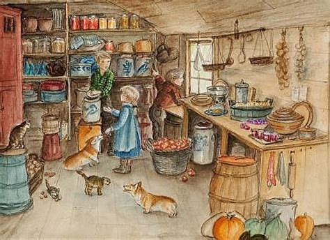 Harvest Pantry by Tudor Biography Works Of Auction Results