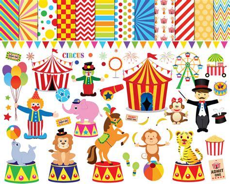 56 Circus Clipart Circus Clip Art Clowns Clipart Carnival Free