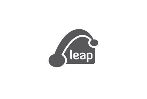 leap design leap logo design logo cowboy