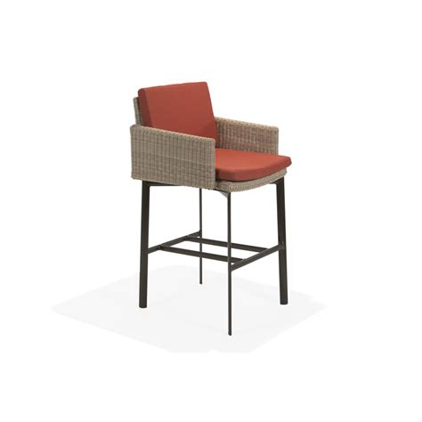 bar stool with optional seat pad krt concepts patio