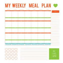 Diabetic Meal Planner Template 3 Simple Ways To Make Eating Healthy Easier Mom Fabulous