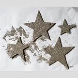 Silver Glitter Stars | 2694 x 2194 jpeg 4340kB