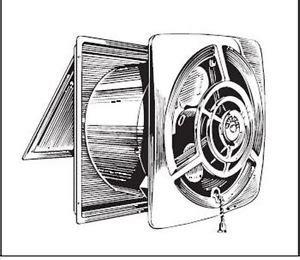 suncourt 8 in hardwired through wall fan kitchen wall exhaust fan kitchen canvas wall