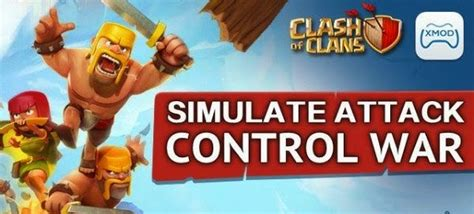 trik pakai xmod game coc bot clash of clans coc with xmod games free download