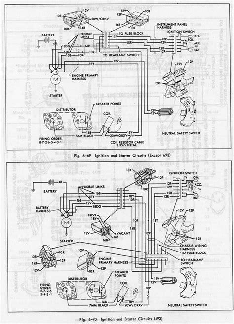 Ignition Diagram | Geralds 1958 Cadillac Eldorado Seville