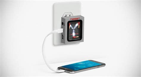 capacitor to battery charger flux capacitor for home charges your devices but won t let you time travel mikeshouts