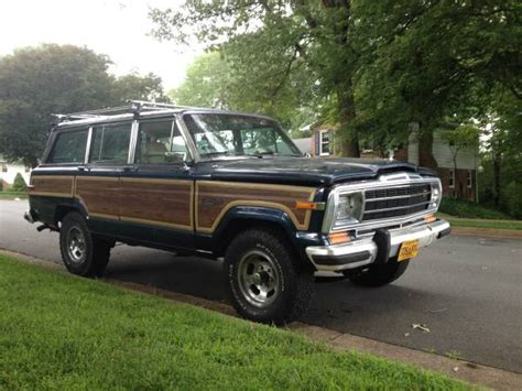tysons jeep 1989 jeep grand wagoneer v8 auto for sale in tysons corner