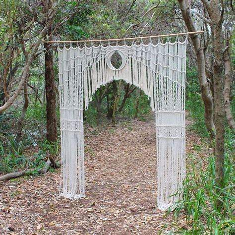 Wedding Backdrop Stand Australia by 1000 Images About Micro Macrame Wall On