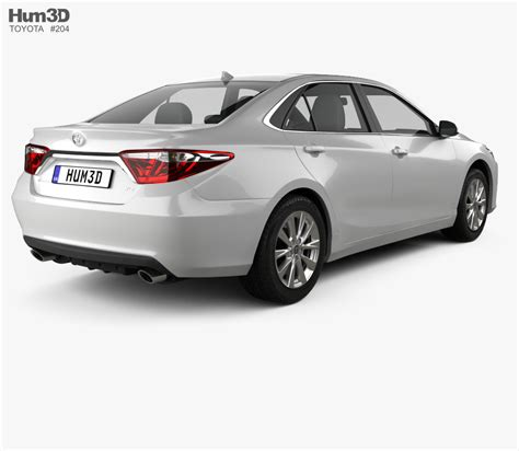 Toyota Camry Xle 2015 3d Model Humster3d