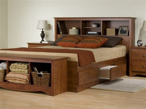 bed with headboard and drawers queen bed with storage drawers and headboard home design