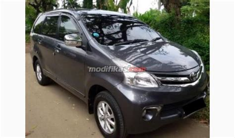 Toyota New Avanza 1 3 G Manual 2012 toyota new avanza 1 3 g manual warna abu abu tua met
