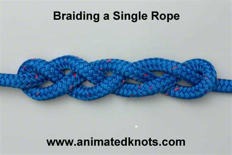 Hemp Braiding Knots - how to braid a single strand great website for basic