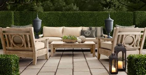 restoration hardware outdoor furniture outdoor escape