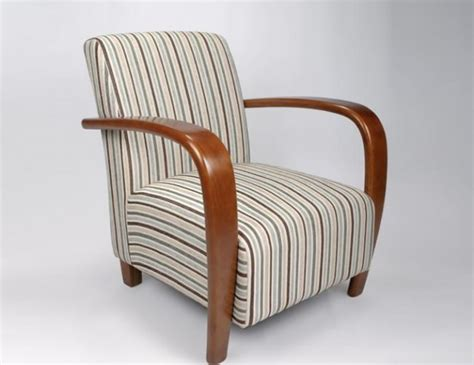 blue striped armchair camber duck egg blue striped fabric arm chair