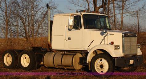 white wim semi truck item  sold january  tr