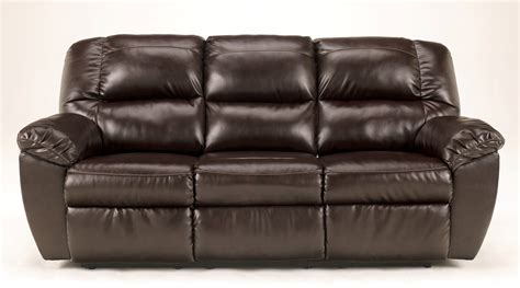 Rouge Durablend Mahogany Power Reclining Sofa 5300087 Durablend Reclining Sofa